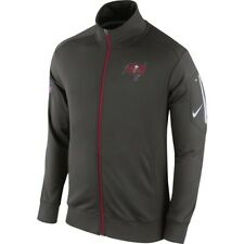 NIKE NFL Tampa Bay Bucs Empower Knit Full Zip Football Grey Track Jacket Mens M