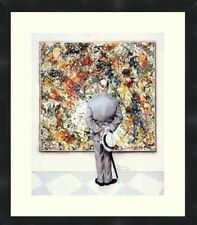 Norman Rockwell Matted and Framed Poster Print Wall Decor Picture Frames By Mail