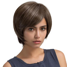 5 Colour Charming Short Straight & Curly Women Ladies Natural Daily Hair Wig
