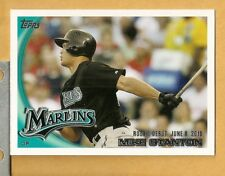2010 Topps Update - GIANCARLO MIKE STANTON - Rookie Card # US-327 RC 327