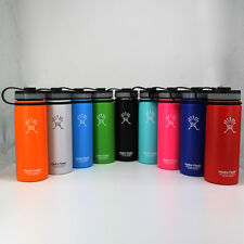 18oz/32oz/40oz Hydro-Flask-Insulated-Stainless-Steel-Water-Bottle-Wide-Mouth