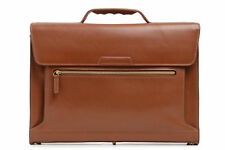 "Korchmar Lux Williams Leather 15"" Laptop Briefcase w/ Tablet Pocket"