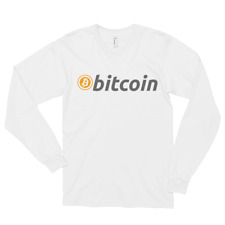Bitcoin Classic Long sleeve t-shirt, Free Shipping. Made in the USA.