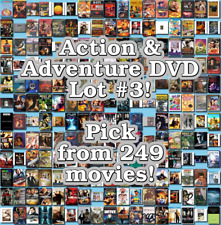 Action & Adventure DVD Lot #3: Pick Items to Bundle and Save!