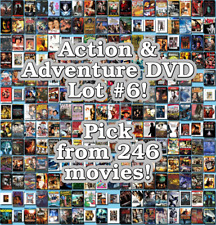 Action & Adventure DVD Lot #6: Pick Items to Bundle and Save!