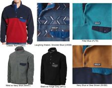 Men's PATAGONIA Lightweight Synchilla Snap-T Fleece Pullover Sweater Jacket NWT