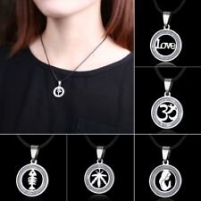 Fashion Surgical Steel Mom Hollow Love Pattern Pendant Necklace Jewelry Gift New