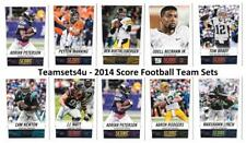 2014 Score Football Team Sets ** Pick Your Team Set **