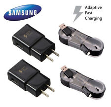 OEM Fast Rapid Wall Charger For Samsung Galaxy S6 S7 Edge Note4 Note5 BLACK