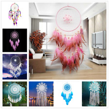 Handmade Dream Catcher Lace Tassel Feather Car Hanging Wall Plume Home Decor New