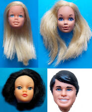 "1960-70s BARBIE 11"" mattel doll -- KEN PJ SKIPPER -- HEAD & BODY PARTS"