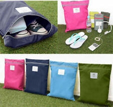 Travel Laundry Zipper Organizer Storage Waterproof Shoe Tote Bag Portable Pouch