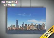 Poster New York City City View from Fleuve