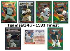 1993 Finest Baseball Set ** Pick Your Team ** Checklist in Description **