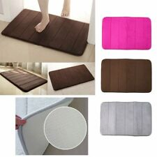 Memory Foam Bath Pad Bathroom Water Absorbent Non-slip Mats Shower Carpet FK