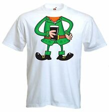 LEPRECHAUN FANCY DRESS T-SHIRT - St. Patricks Day Ireland Irish Outfit Costume