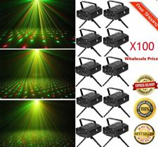 LOT 100 Mini LED R&G Stage Lighting Laser Projector LightParty DJ Disco Show EO