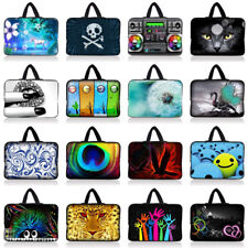"""9""""-10.2"""" Neoprene Sleeve Bag Case Pouch+Handle For Netbook Laptop Tablet Ipad PC"""