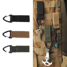 Outdoor Hiking Backpack MOLLE Strong Nylon Webbing Triangular Carabiner Clip