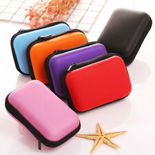 Carrying Case Bag Storage Box EVA Hard for USB Cables Earphone MP3 Coin Purse