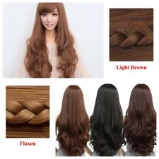 Ladies Anime Cosplay Full Wigs Pop Party Costume Fancy Dress Stylish Hair Wigs