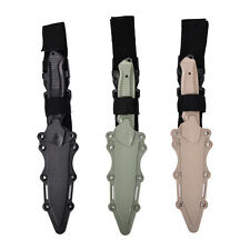 Tactical Knife Model Rubber Dagger Military Cosplay Toy Sword Training Prop RSKJ