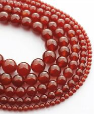 Wholesale 1Strand Beautiful Red Agate Round Loose Beads 15.5inch HH3573