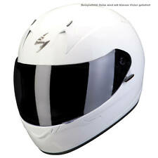 Scorpion exo-390 Solid Motorcycle Full Face Helmet Touring - White
