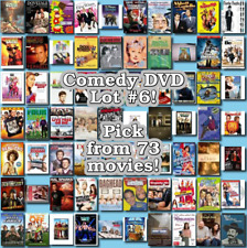 Comedy DVD Lot #6: DISC ONLY - Pick Items to Bundle and Save!