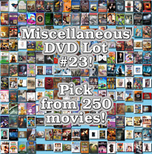 Miscellaneous DVD Lot #23: DISC ONLY - Pick Items to Bundle and Save!