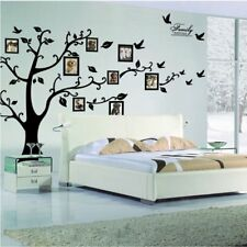Removable 200*250cm Wall Stickers Photo Frame Family Tree Decor Decal Mural AU@