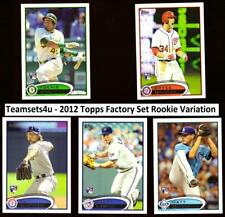 2012 Topps Factory set Rookie Variations ** Pick your card **