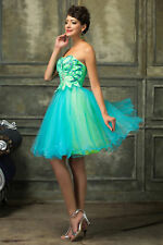 Ball Dress Evening Prom Cocktail Homecoming Tulle Party Mini Wedding Short Gown
