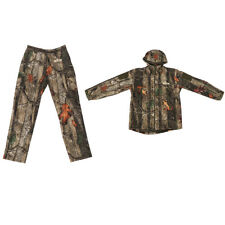 MagiDeal Men Women Camo Outdoor Hunting Jacket Outwear Pants Hoodie Trousers