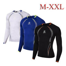 Mens Compression Baselayer Body Armour Thermal Under Skin shirt Tight Top