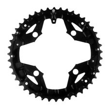 MagiDeal BCD 104mm Black Steel Front Chainring MTB Mountain Bike 8, 9 speeds
