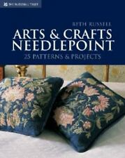 Arts & Crafts Needlepoint: 25 Patterns & Projects: By Beth Russell