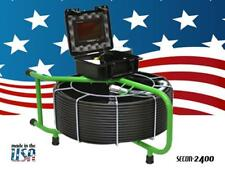 200 FEET SEWER INSPECTION VIDEO PIPE DRAIN CLEANER INSPECTION CAMERA 512hz SONDE