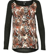 Stella Morgan Spectacular Bold Butterfly Print Knitted Top Sizes 10,12