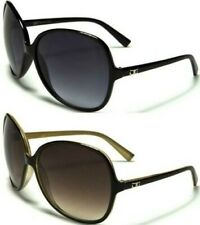 NEW CG DESIGNER SUNGLASSES LADIES WOMENS RETRO BLACK BIG VINTAGE LARGE OVERSIZED