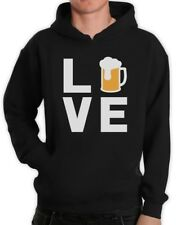 I Love Beer - Gift Idea for Beer Drinkers - Cool Pub Hoodie Novelty Present