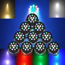 10Pcs LED Music Stage Disco Light DMX512 Stage Strobe Light for Party Bar Club