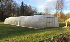 24ft Wide Polytunnel Greenhouse - Commercial Polytunnel from Premier Polytunnels