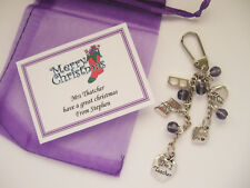Bag Charm Keyring - Teacher / Thank you / Christmas Gift / Stocking Filler