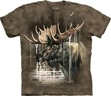 Moose Forest Moose T Shirt Adult Unisex The Mountain