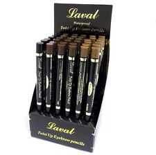 Laval Waterproof Twist Up Eye Brow  Eyebrow Pencil - Blonde, Black or Brown