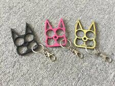 Cat-Self-Defense Tools Key Chain Metal Keyring Gift Outdoor Travel Safe for Girl