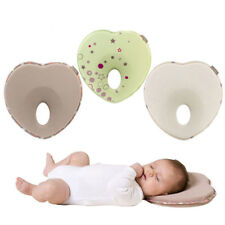 Anti-Roll Prevent Flat Head Support Neck Memory Foam Newborn Baby Infant Pillow