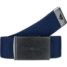 Quiksilver Principle Iii Mens Belt Web - Medieval Blue One Size