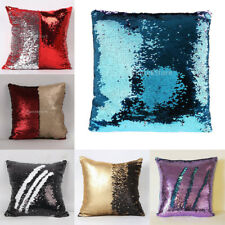 MagiDeal Sequins Sofa Bed Cushion Cover Pillow Cases Pillow Lounge Cafe Decor